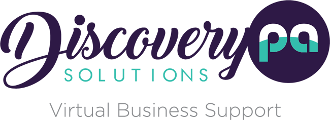 Discovery PA solutions logo | Personal Assistant Services Kent